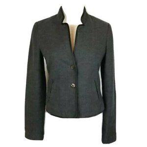 Maison Scotch Dark Grey Wool Blend Blazer